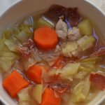 Caldo de pollo thermomix